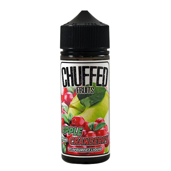 CHUFFED FRUITS - APPLE & CRANBERRY 0MG 100ML