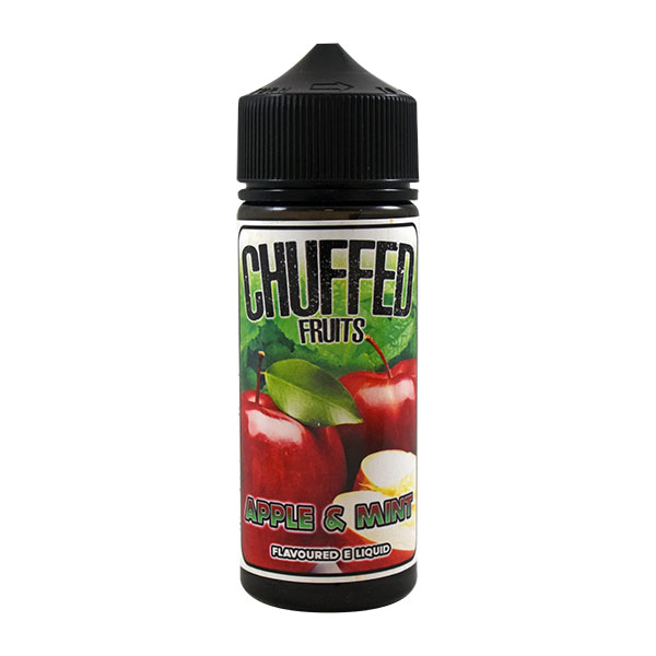 CHUFFED FRUITS - APPLE AND MINT 0MG 100ML