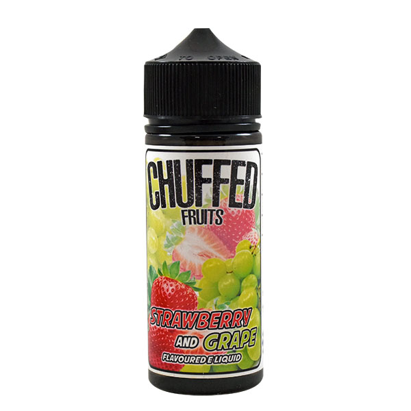 CHUFFED FRUITS - STRAWBERRY AND GRAPE 0MG 100ML