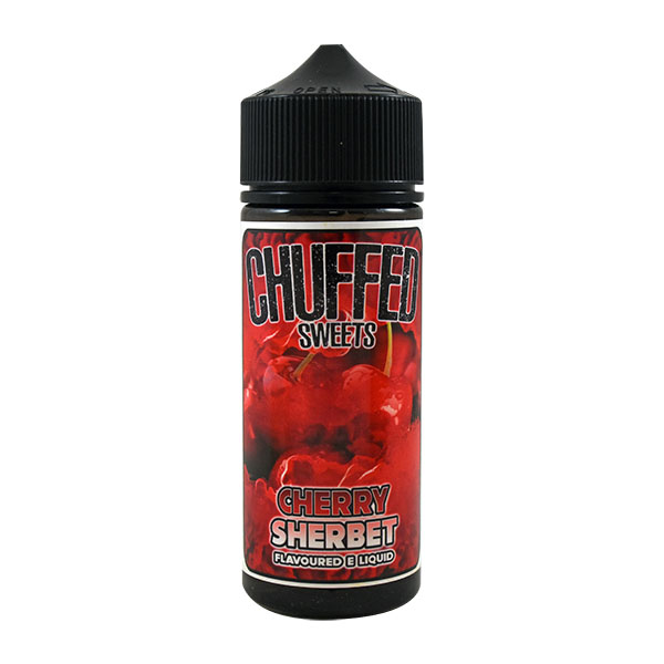CHUFFED SWEETS - CHERRY SHERBET 0MG 100ML