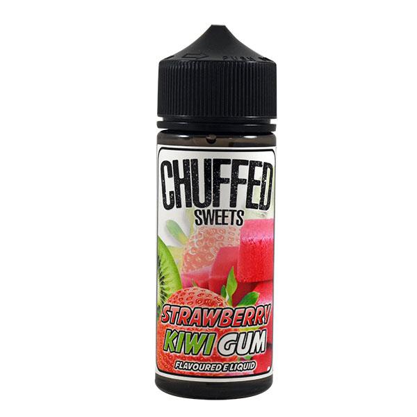 CHUFFED SWEETS - STRAWBERRY KIWI GUM 0MG 100ML