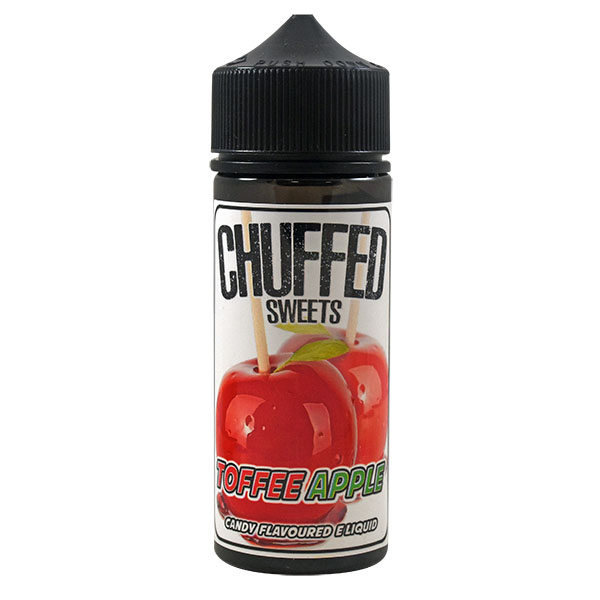 CHUFFED SWEETS - TOFFEE APPLE 0MG 100ML