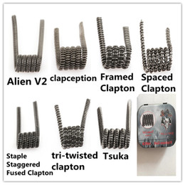 Violence Coil Tri Twisted Clapton Coil 10 St