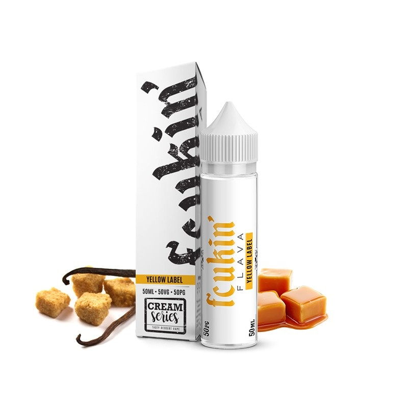 Fcukin 'Flava CREAM - Yellow Label 50 ml