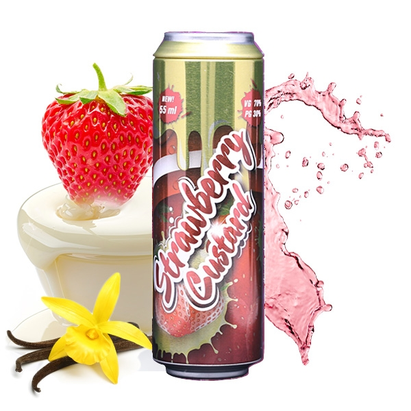 Fizzy - Strawberry Custard 55ml