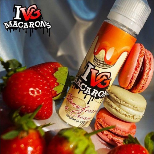 I VG Macarons - Strawberry Cream