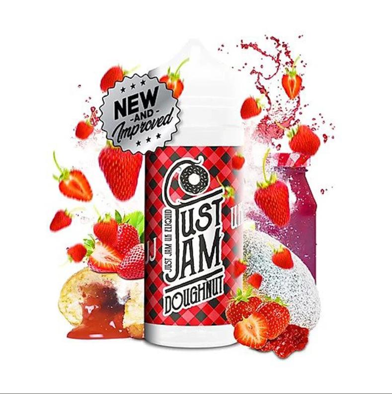 Just Jam Strawberry Doughnut 80ML