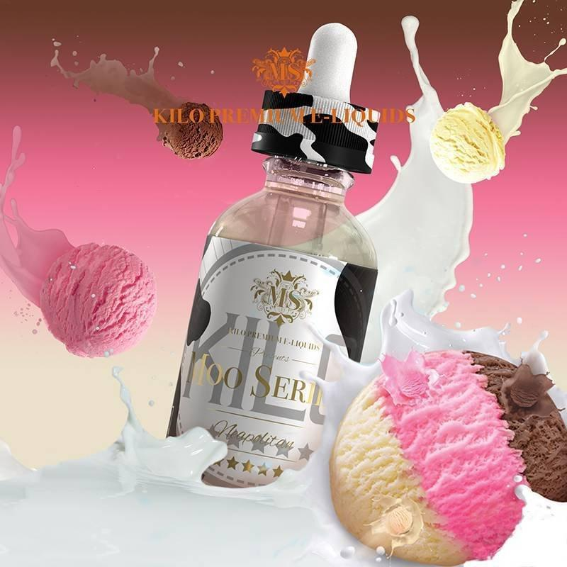 KILO Moo Series - Neapolitan Milk 60ml