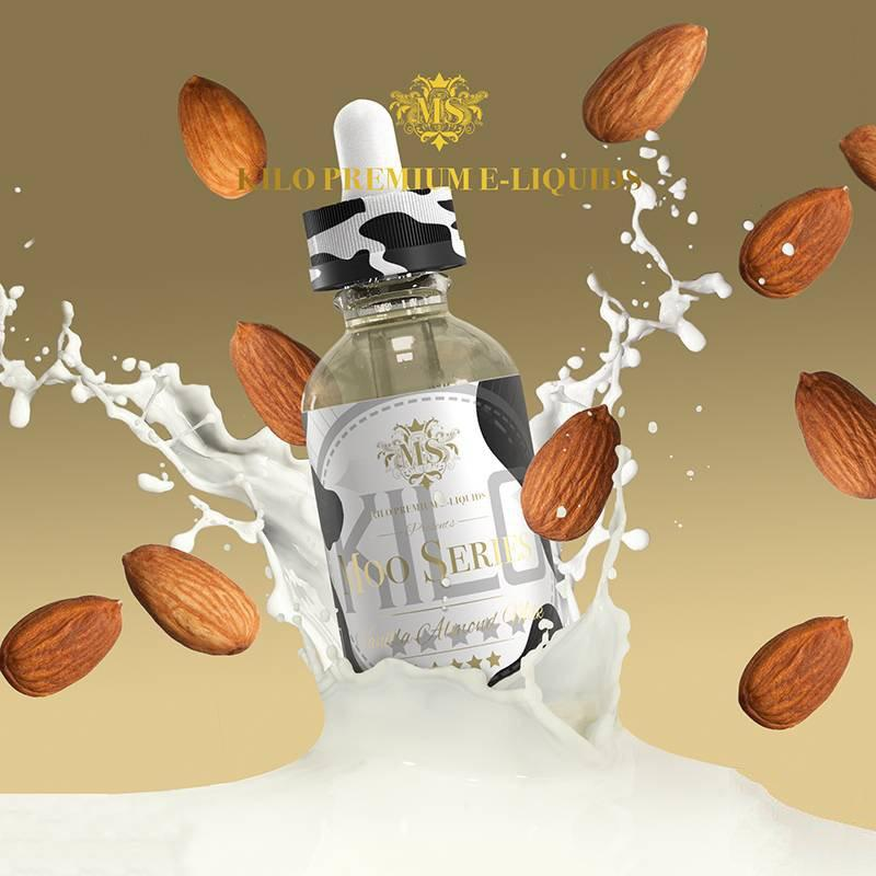 KILO Moo Series - Vanilla Almond Milk 50ml