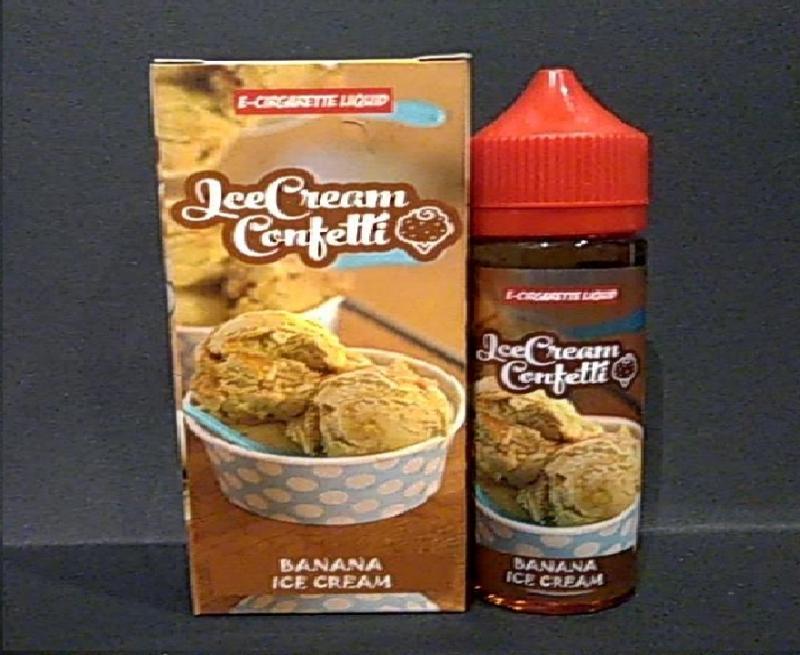 Lee Cream Confetti - Banana Ice Cream 100ML