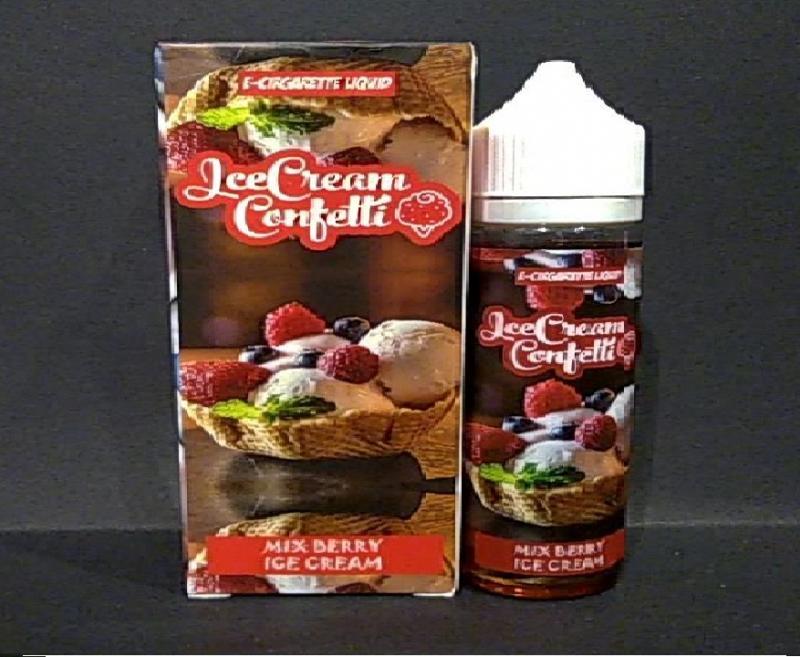 Lee Cream Confetti - Mix Berry Ice Cream 100ML