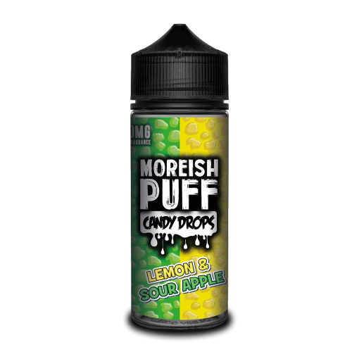 Moreish Puff Candy Drops - Lemon & Sour Apple 100ml