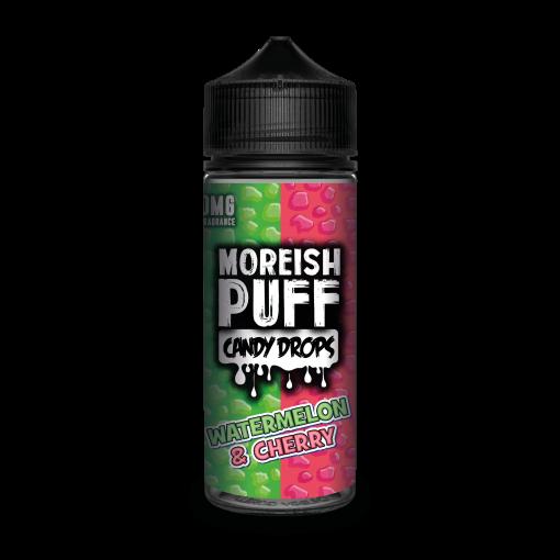 Moreish Puff Candy Drops - Watermelon & Cherry 100ml