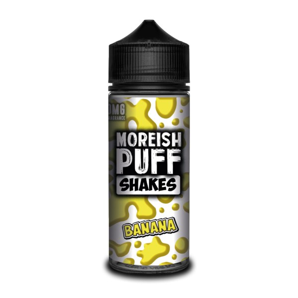 Moreish Puff Shakes - Banana 100ml