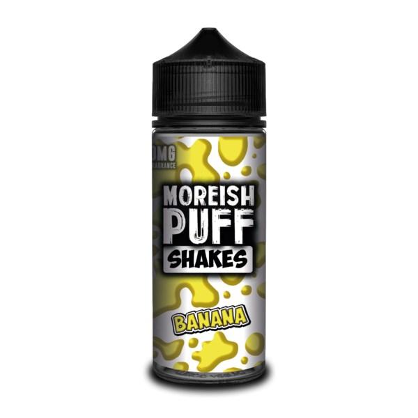 Moreish Puff Shakes - Banana 100ml
