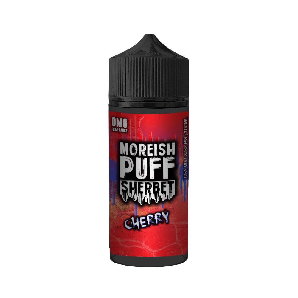 Moreish Puff Sherbet​ - Cherry 100ml