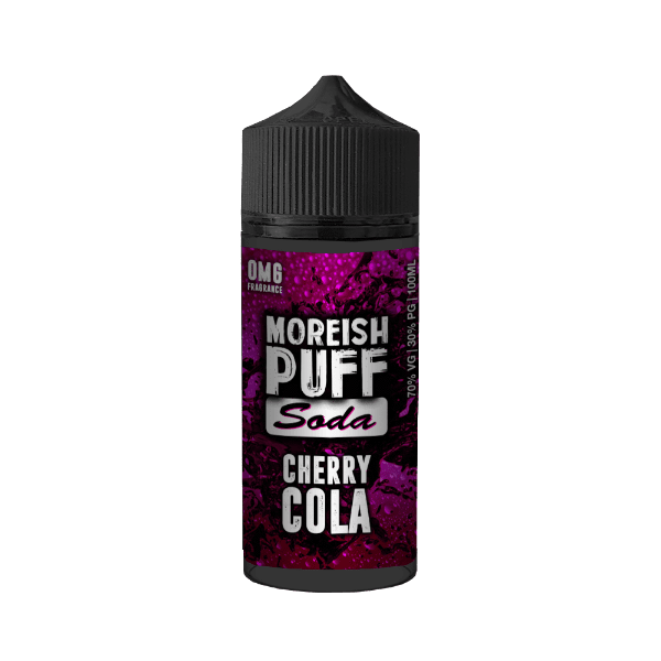 Moreish Puff Soda​ - Cherry Cola 100ml