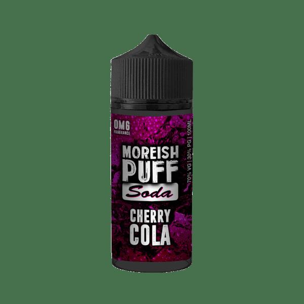 Moreish Puff Soda - Cherry Cola 100ml