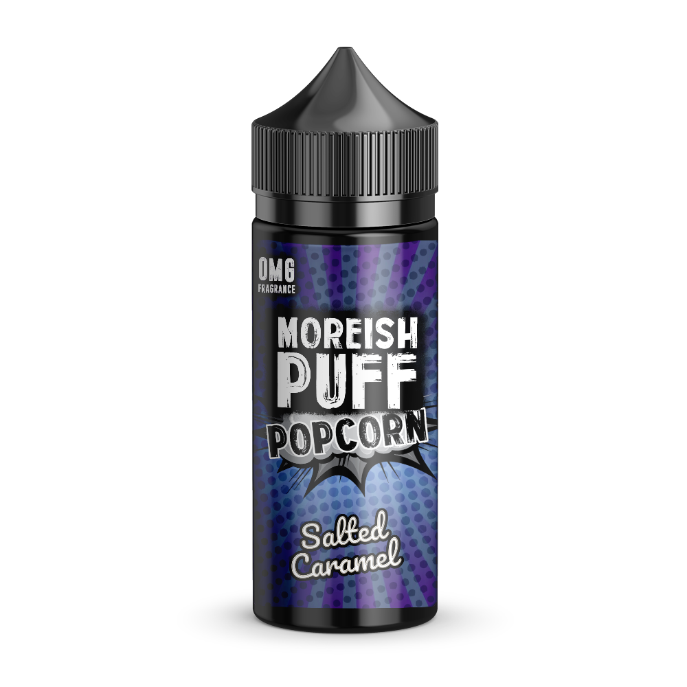 Moreish Puff Popcorn - Salted Caramel 100ml