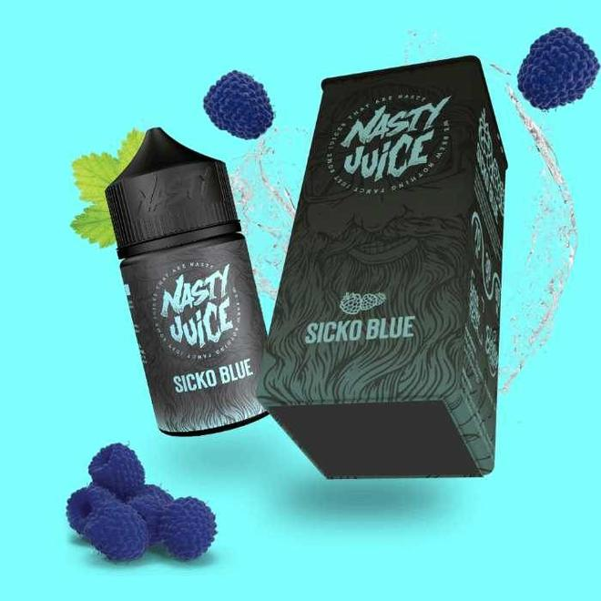 Nasty Juice - Berry Series Sicko Blue 0mg 50ml