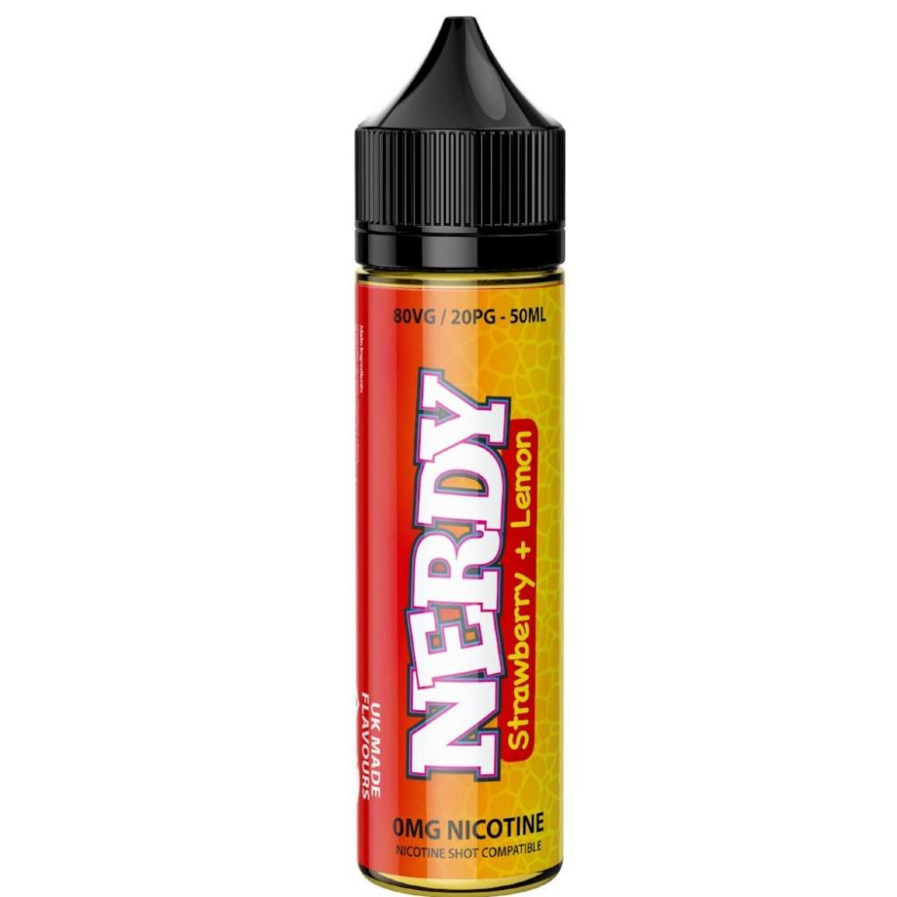 NERDY - STRAWBERRY + LEMON 50ML