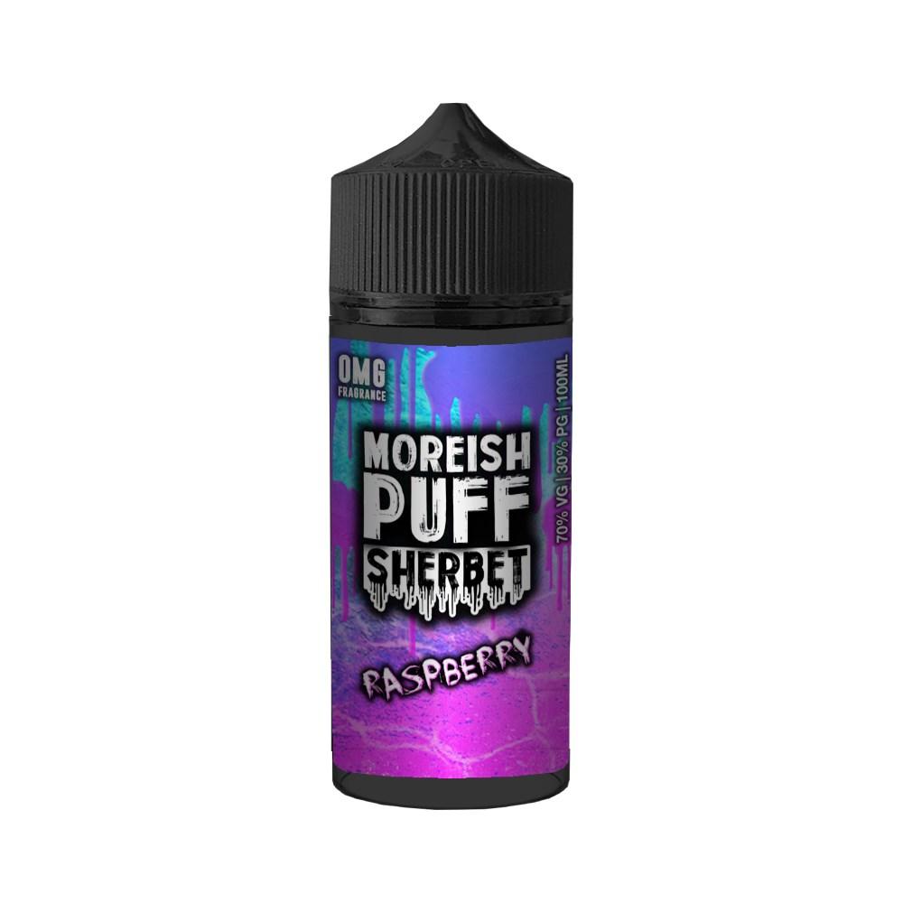 Moreish Puff Sherbet - Raspberry 100ml
