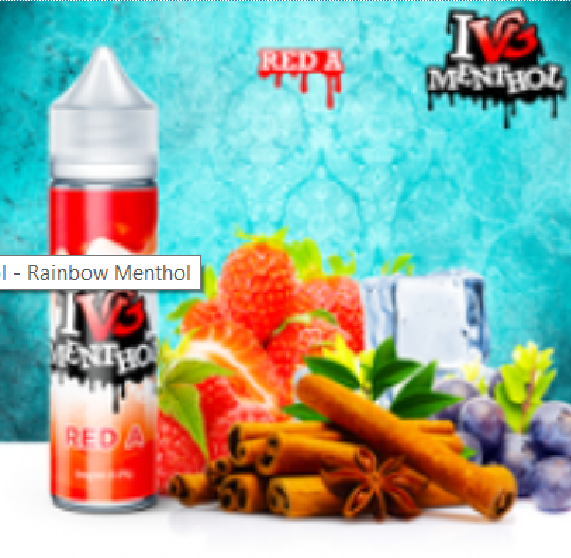 I VG Menthol - Red A