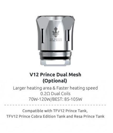 SMOK V12 Prince Dual Mesh