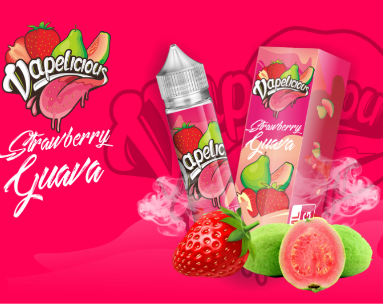 VAPELICIOUS - Strawberry Guava 50ML