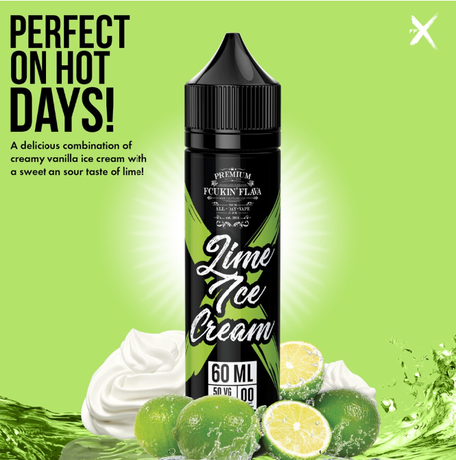 Fcukin' Flava X - Lime Ice Cream 60 ml