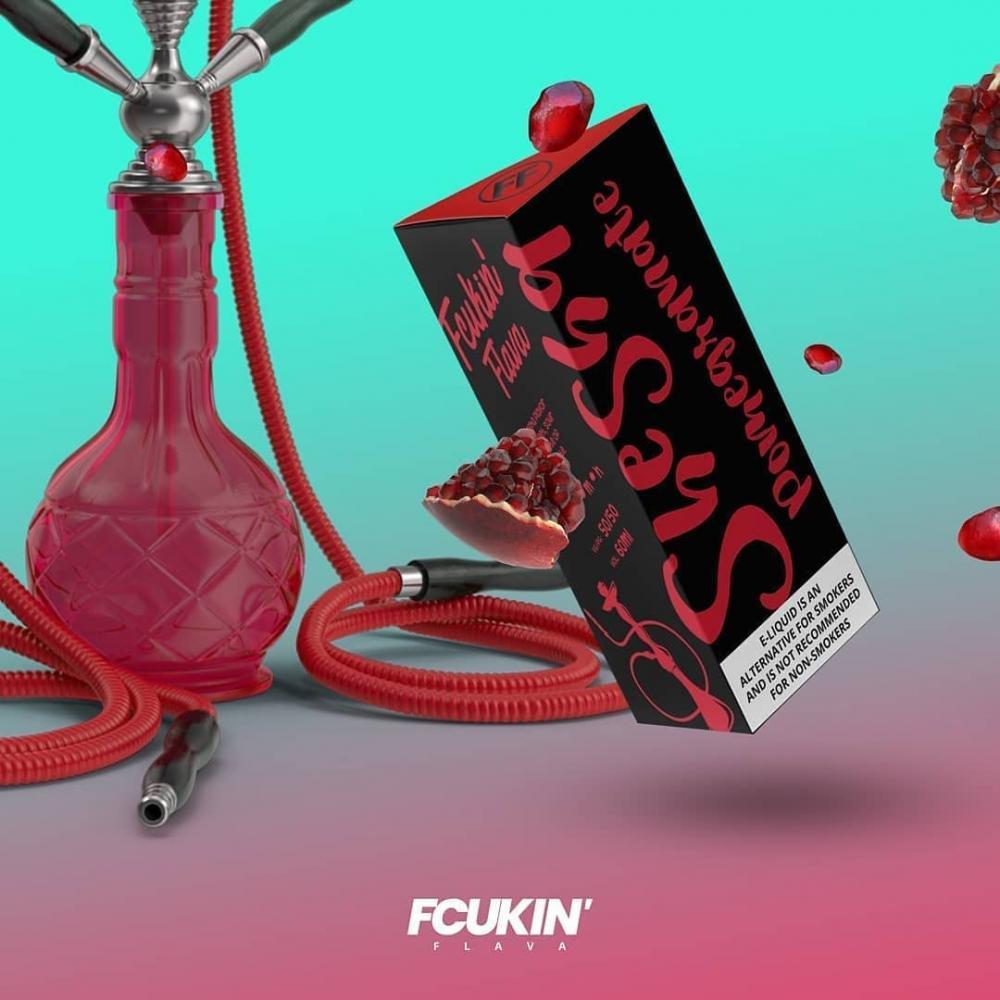 Fcukin' Flava - Shesha Series Pomegranate 50ml