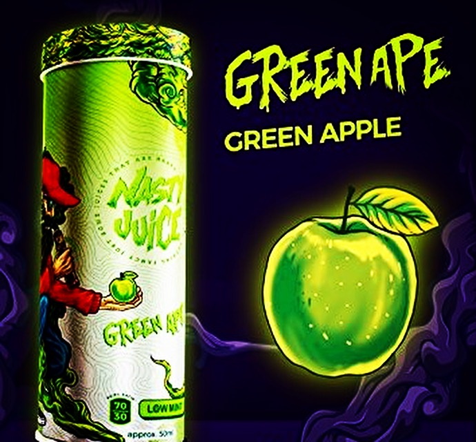 Nasty Juice - Green Ape