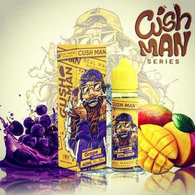 Nasty Juice - Cush Man Series Mango Grape