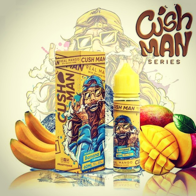 Nasty Juice - Cush Man Series Mango Banana