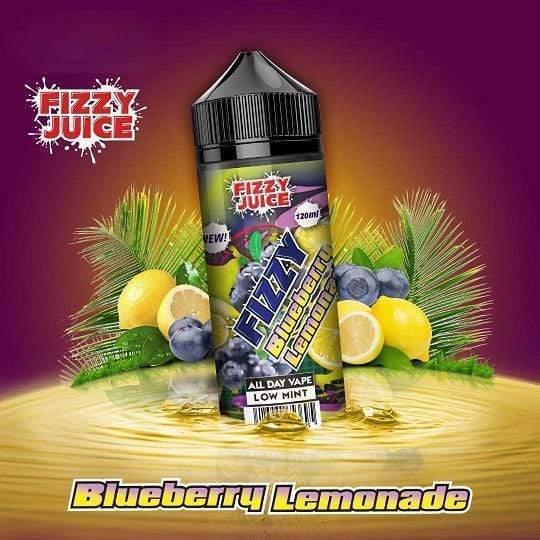 Fizzy Blueberry Lemonade  0mg 100ml