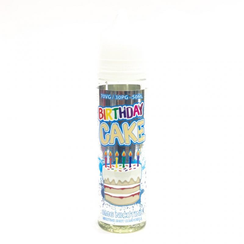 BIRTHDAY CAKE - 50ml  0mg Shotfill