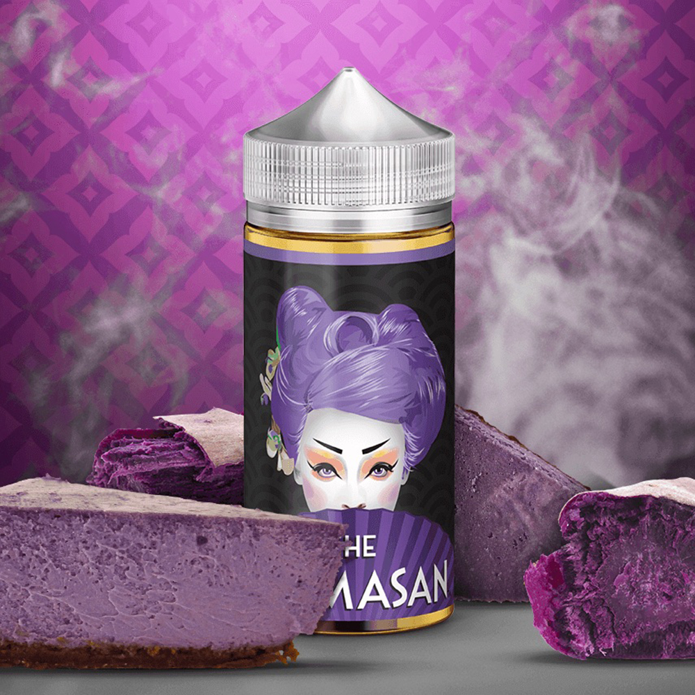 Mamasan - Purple Cheesecake 100ml