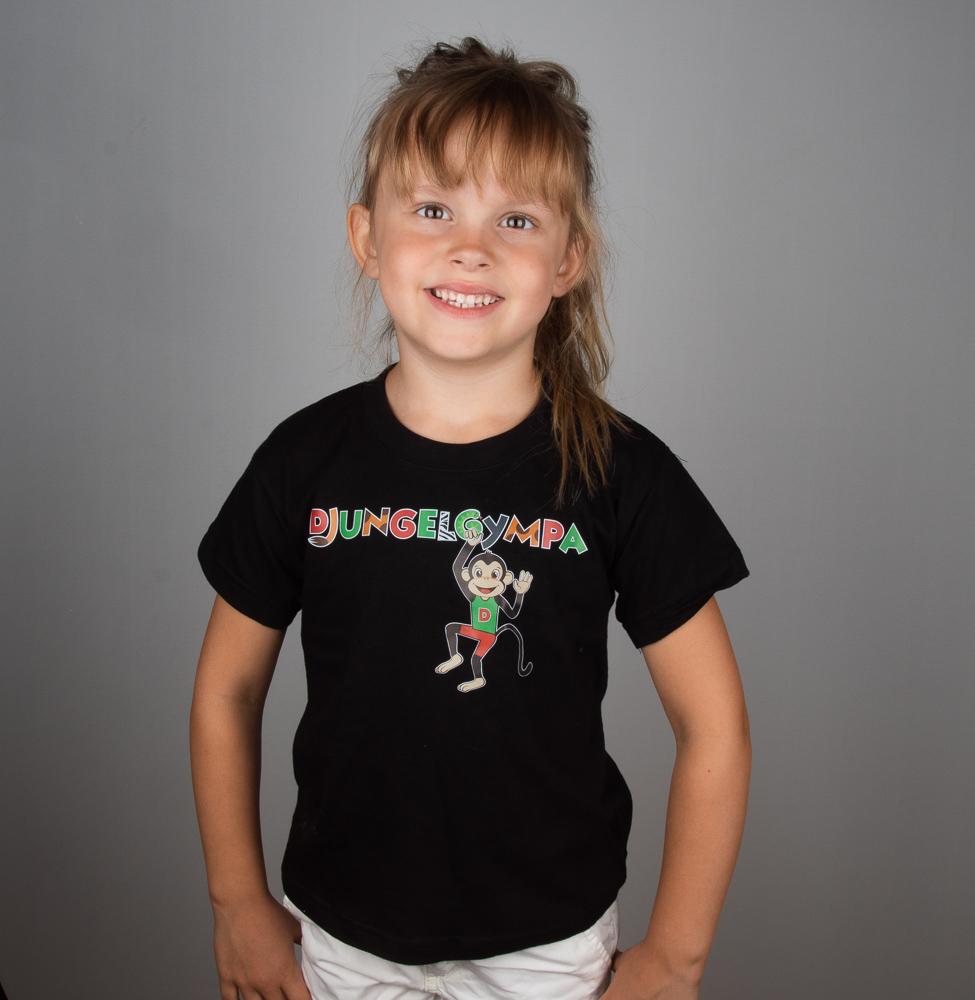 Djungelgympa t-shirt SVART