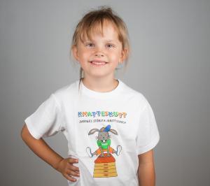 Knatteskutt T-shirt Hoppa Bock