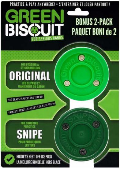 Green biscuit combo - Teknikpuck för asfalt. Swegotsport