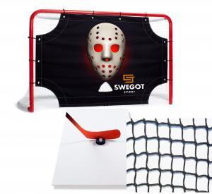 Hockey Goal, Goaltarget, Shootingpad and safety net