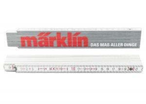 Märklin 012305 Tumstock med Märklin tryck. Längd 2 meter