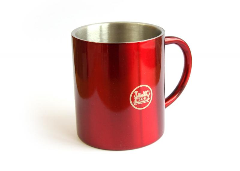 LGB 012445 Aluminiummugg Kaffe mugg LGB Logo Nyhet