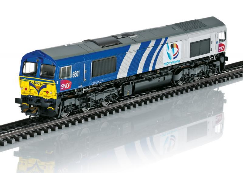 Märklin 39064 Diesellok Class 66 SNCF Höstnyhet 2020 Förboka ditt exemplar