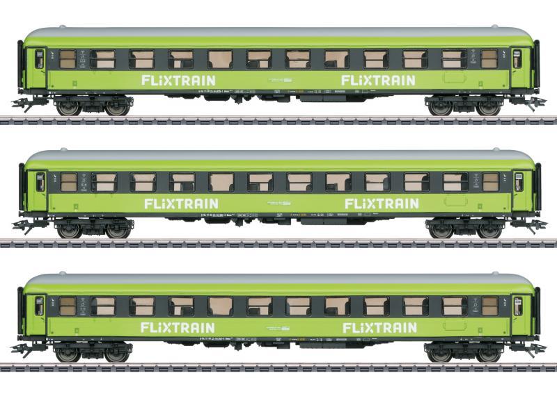 Märklin 42955 Vagnsset Flixtrain - MHI Exklusiv IV Nyhet 2020 Förboka ditt exemplar