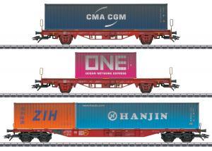 Märklin 47580 Vädrat Containervagnset (DB AG) Höstnyhet 2020 Förboka ditt exemplar