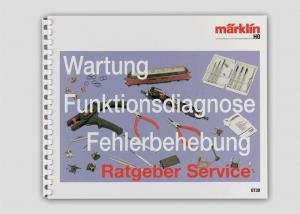 Märklin 0730 Bok Tysk text H0 Service Manual