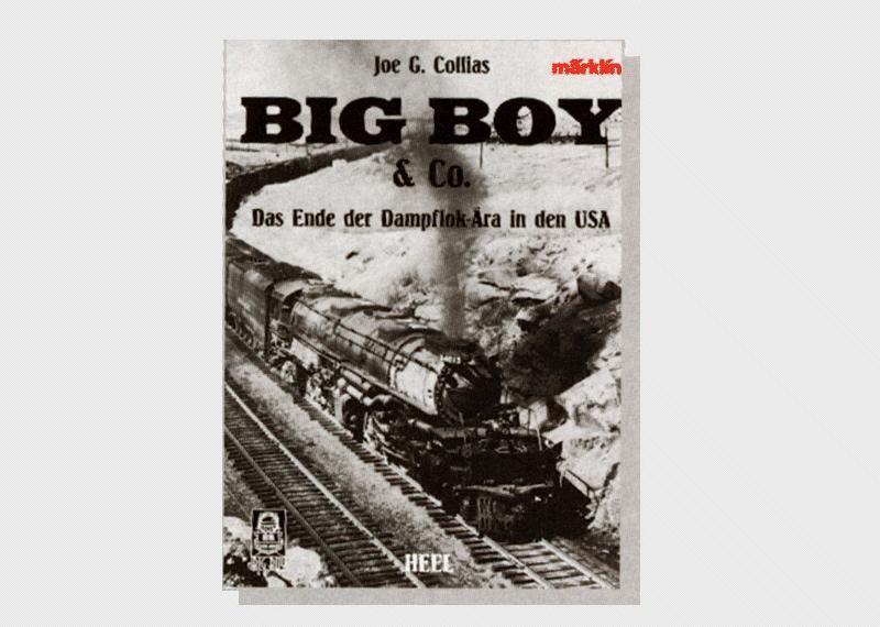 """Märklin 07499 Bok om det stora Big Boy loket """"Big Boy & Co."""" Tysk text"""