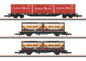 Märklin 82663 Containervagnset Sgs 693 + Lgjs 598 DB Höstnyhet 2020 Förboka ditt exemplar