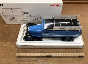 Märklin 1101 Samlarbil Reproduktion utav banklastbil. MHI 1994 inklusive certifikat